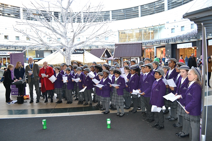Don't miss local carol singers at intu Milton Keynes!