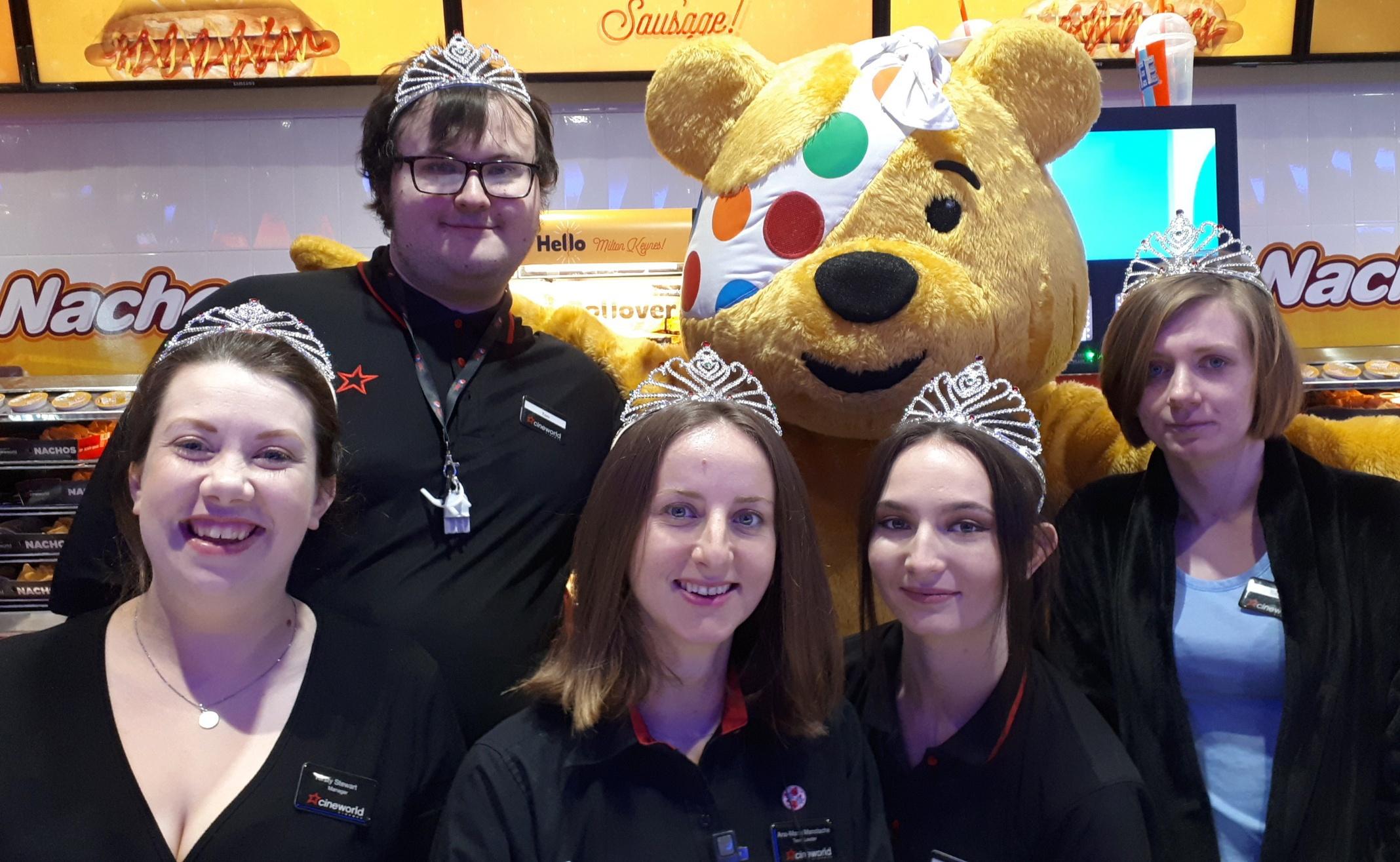 Princess World Record attempt at Cineworld Xscape