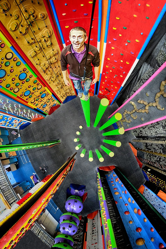 Reaching new heights with Milton Keynes' newest climbing attraction