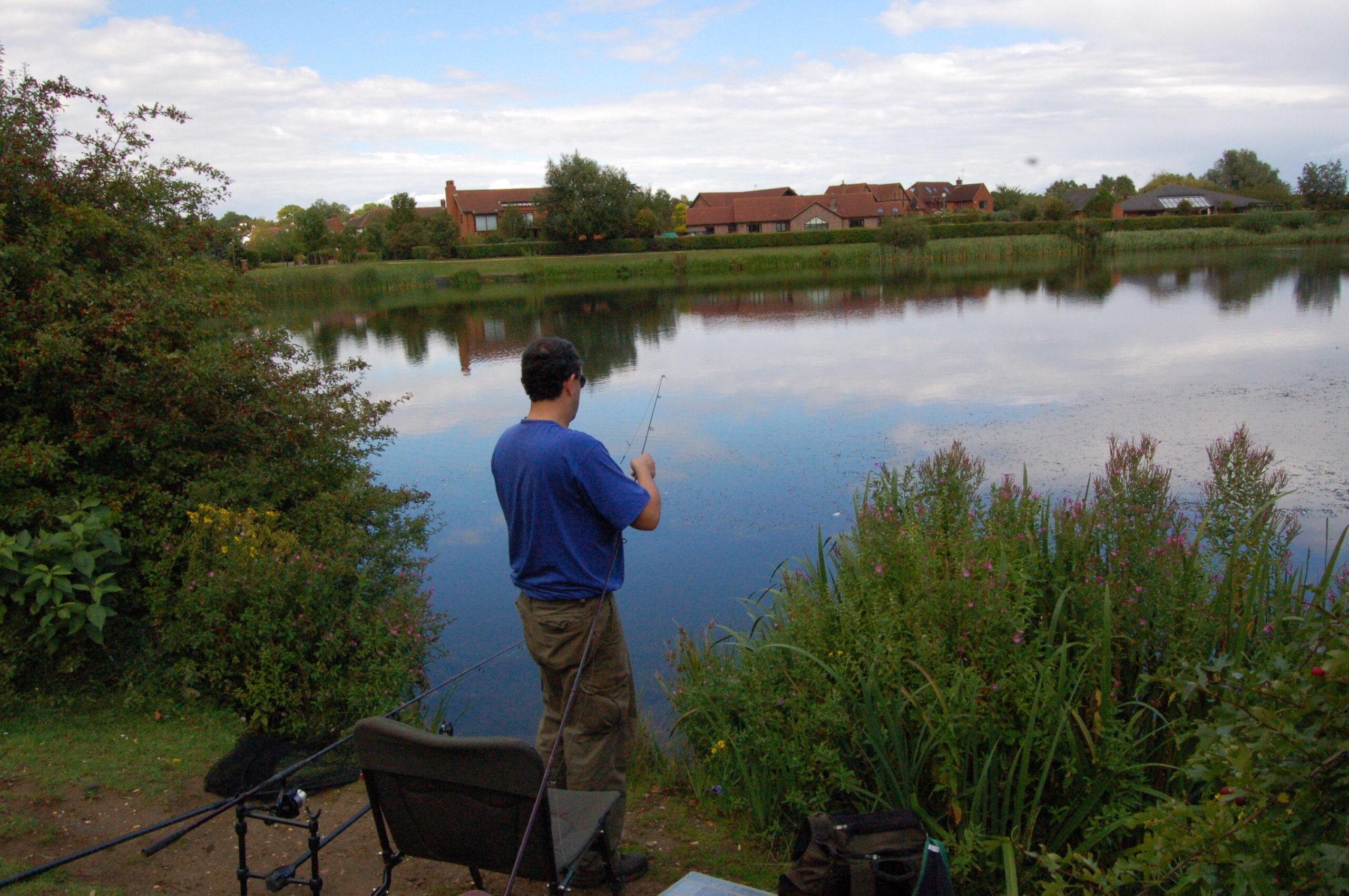 Fishing in Milton Keynes