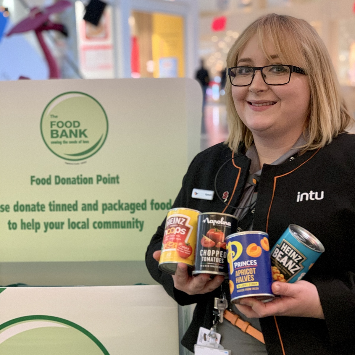 intu MK launches Festive Food Drop campaign for MK Food Bank