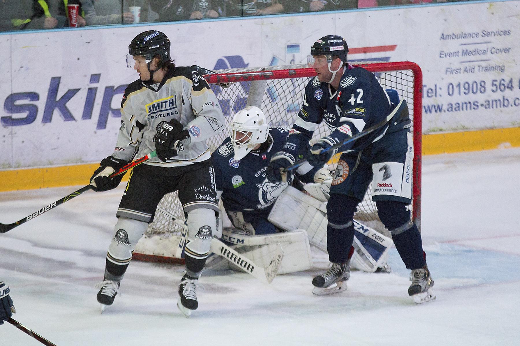MK Lightning Ice Hockey Top Image