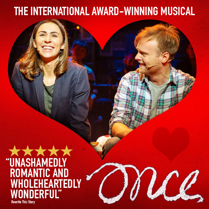 The cast of Once will be warming hearts this Valentine's Day