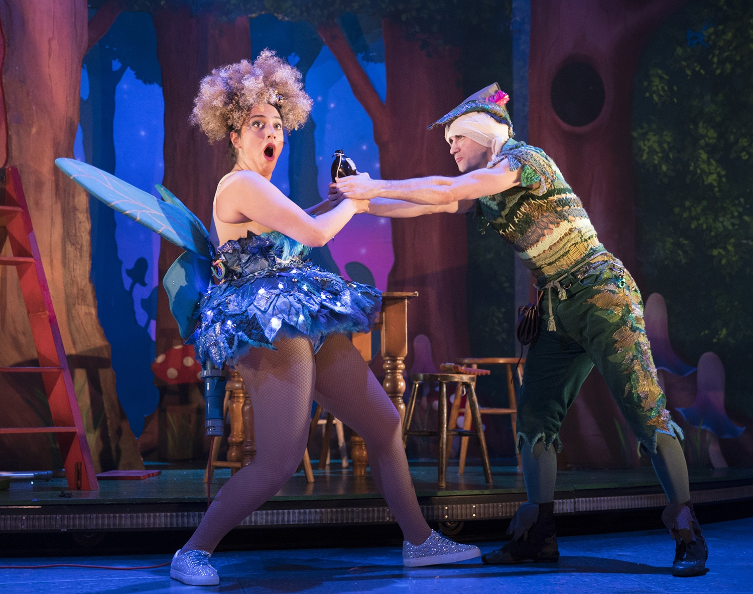 Mishaps a plenty in Peter Pan Goes Wrong at MK Theatre