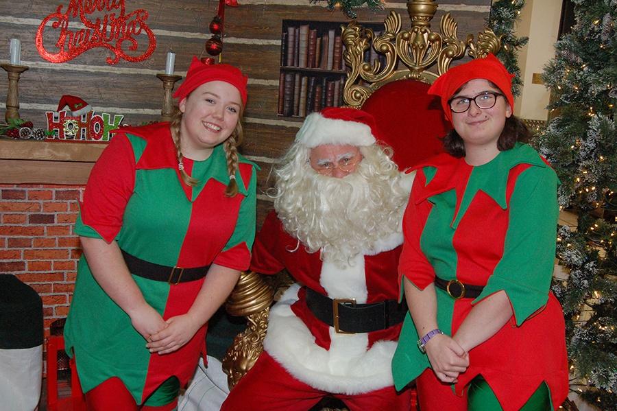 Xscape Milton Keynes Santa