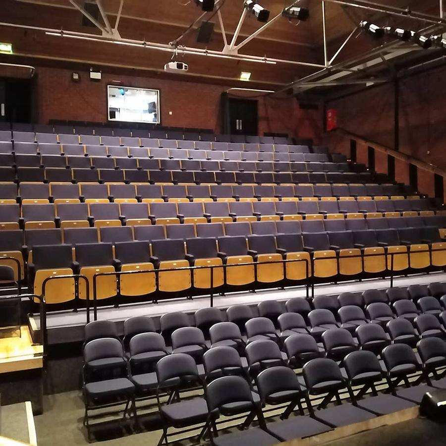 Stantonbury Theatre Seat Refurbishment