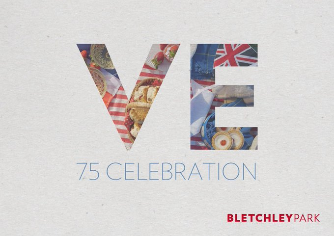 Celebrate VE Day at home with Bletchley Park