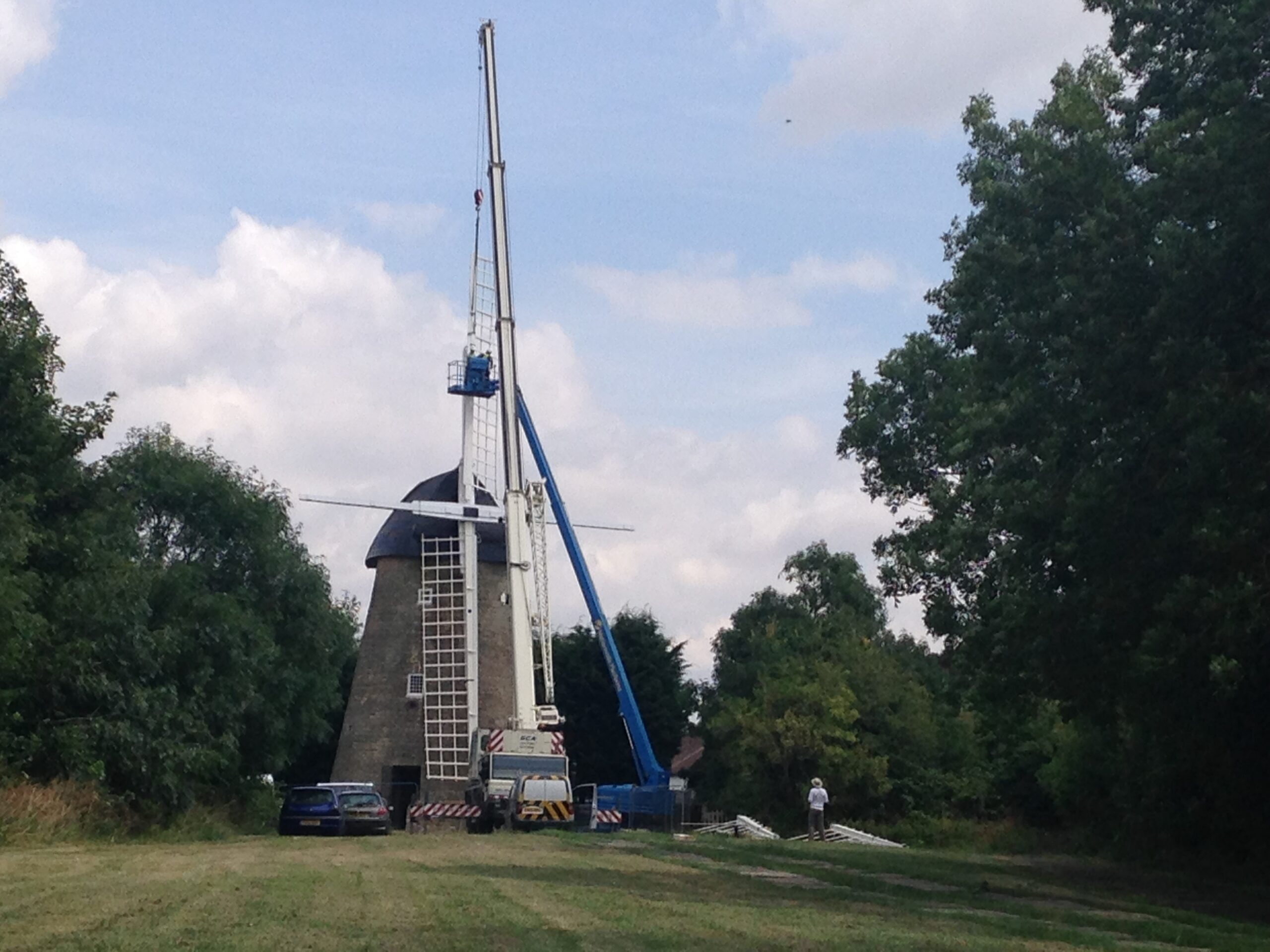 Bradwell Windmill Top Image
