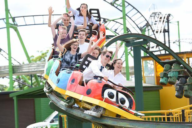 Wicksteed Park Roller Coaster