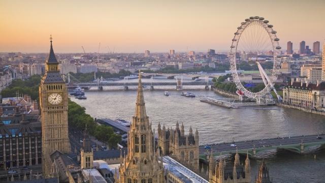 London Eye Thames
