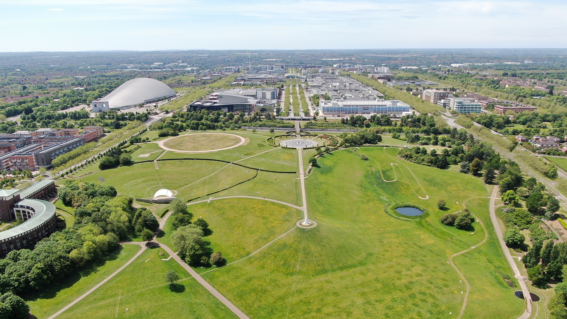 The Parks Trust and Campbell Park Amphitheatre Top Image