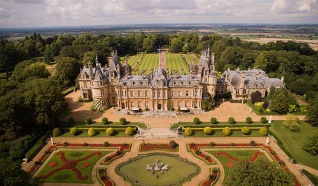 Waddesdon Manor From above