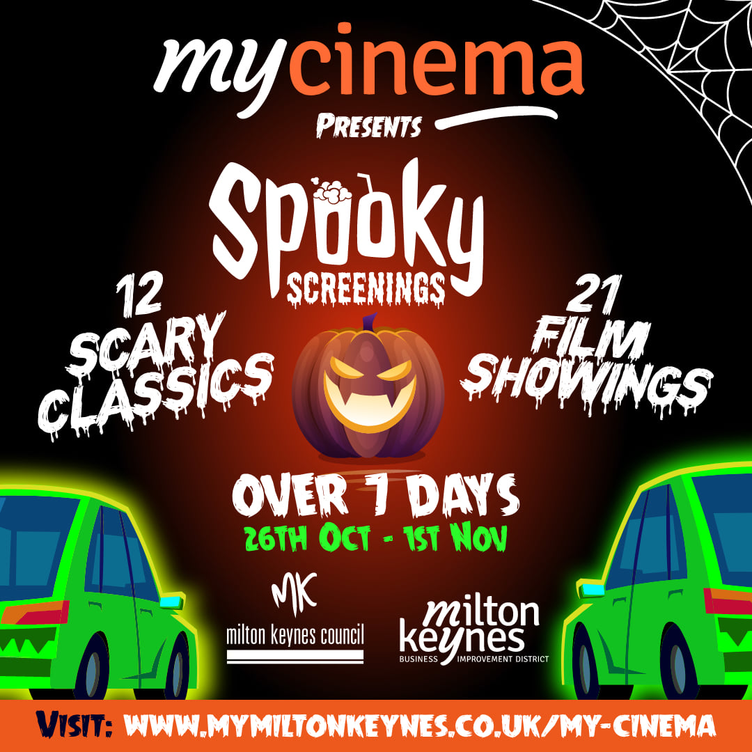 Spooky Screenings with MyCinema Drive In Top Image