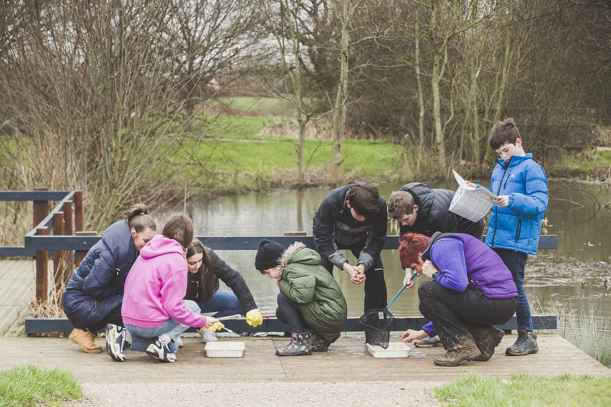 Family friendly activities from The Parks Trust this half term